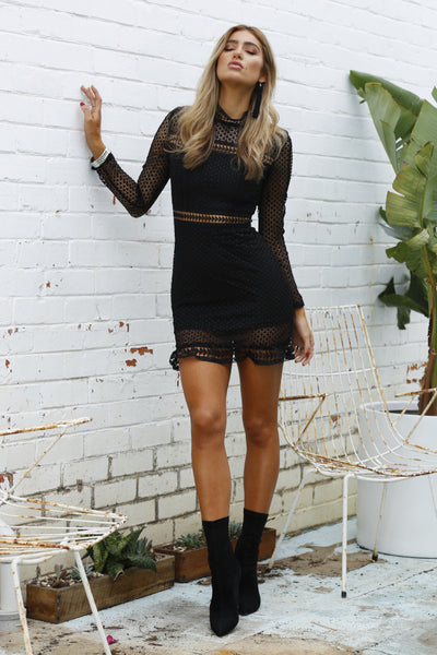 Wanderlust Dress (Black)