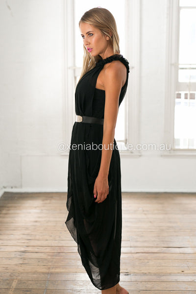 Princess Diaries Maxi Dress (Black)