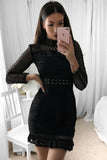 **Riverdale Lace Dress (Black)