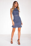 Rivers Dress (Steel Blue)