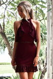 Shayne Dress (Wine)