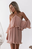 Sicily Dress (Dusty Peach)