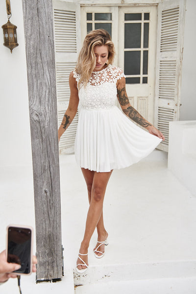 Splended Angel Dress (White)