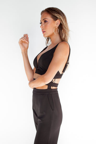 Status Nights 2.0 Jumpsuit (Black)