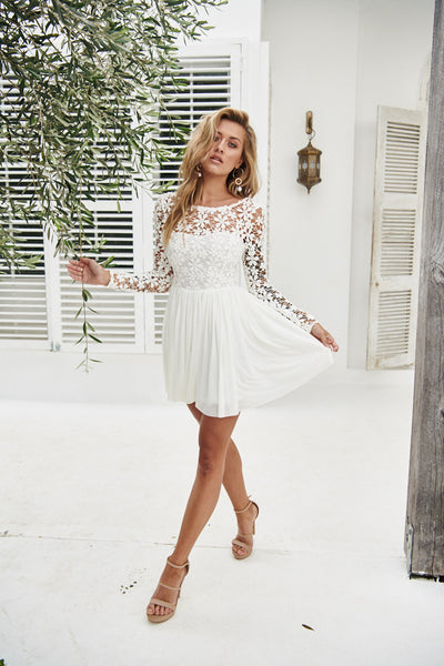 Splended Angel 2.0 Dress (White)