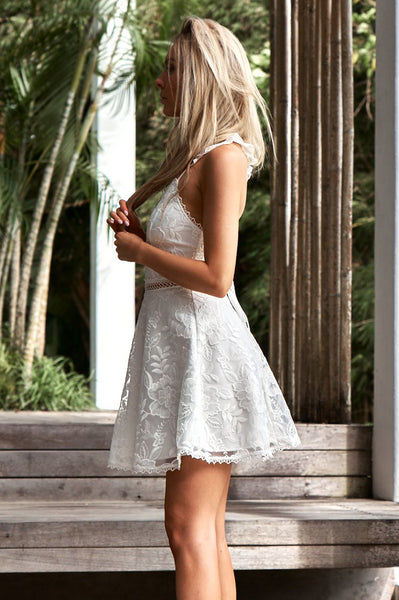 Tessie Dress (White)