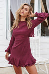 The London Dress (Plum)