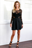 The Lucky One Dress (Black)