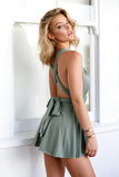 The Perfect Date Dress (Khaki)