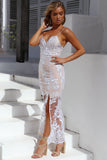 Unforgettable Maxi Dress, Silver, Side