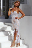 Unforgettable Maxi Dress, Silver, Side 2