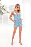 We Belong Together Overalls (Blue Denim)