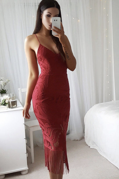 Khaleesi Dress (Wine)