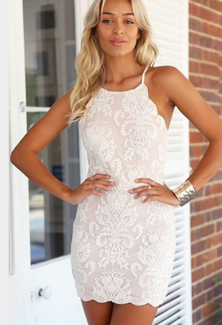 Morgan Dress (White)
