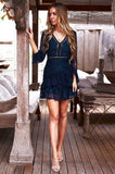 Preen Dress (Navy)