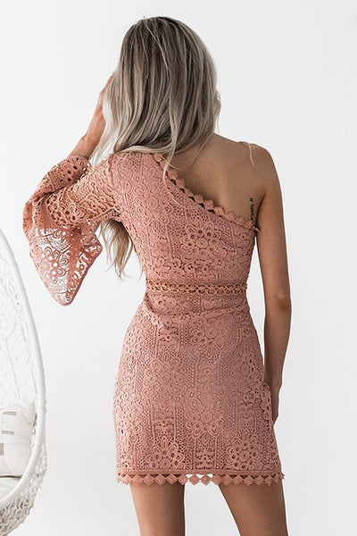 **Elysian Dress (Peach)