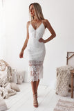 Estelle Dress (White)