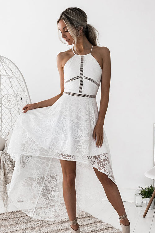 Hazel Dress (White)