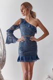 Indiana Dress (Steel Blue)