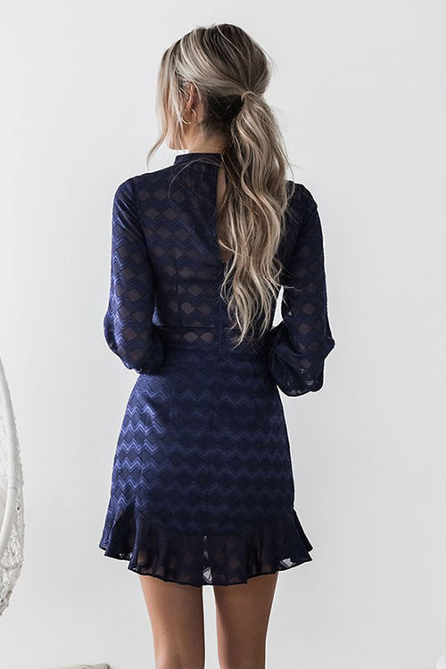 Kassie Dress (Navy)