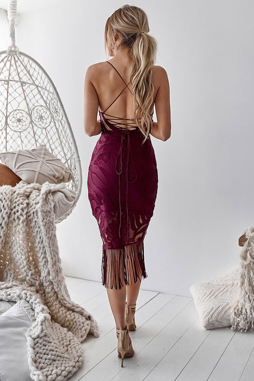 Khaleesi Dress (Mulberry)