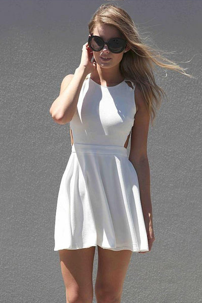 In The Moment Dress (White)
