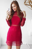 Wanderlust Dress (Red)