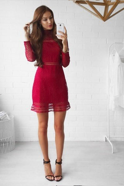Wanderlust Dress (Burgundy)