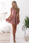 saskia dress, pink, floral embroidered, pretty dress, two sisters the label, cute, style, fashion, women's fashion