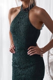 Sonia Dress (Emerald Green)