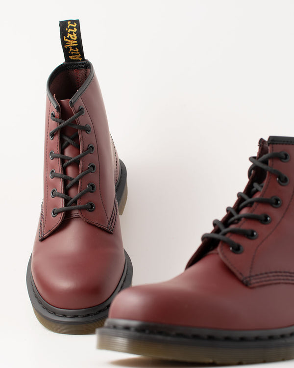 Dr. Martens Dr. Martens, 101 PW Cherry Red Smooth - Pick Up - Dusseldorf
