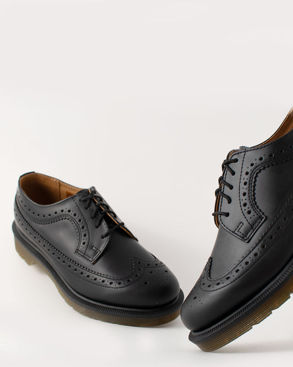 Dr. Martens Dr. Martens, 3989 Brogue Black Smooth - Pick Up - Dusseldorf