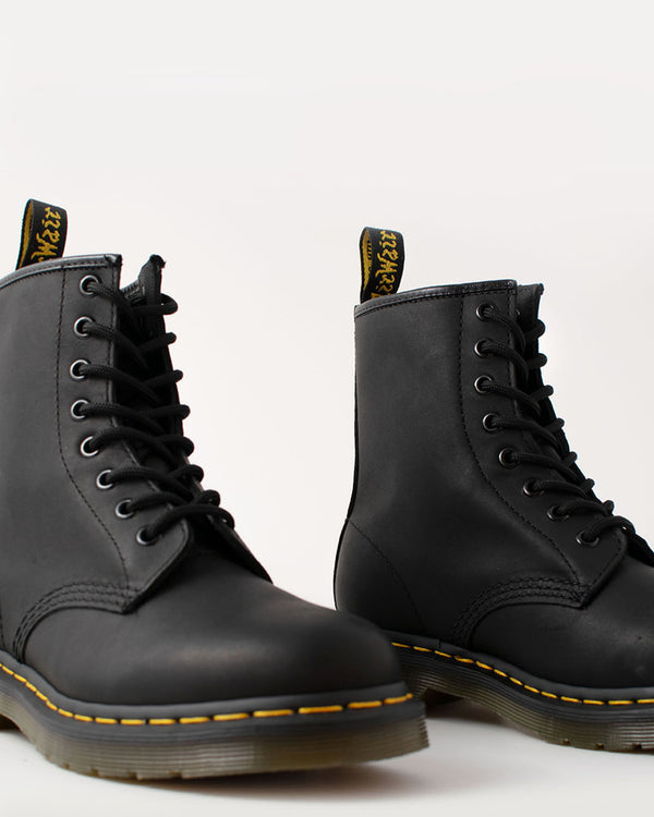 Dr. Martens Dr. Martens, 1460 Black Greasy - Pick Up - Dusseldorf