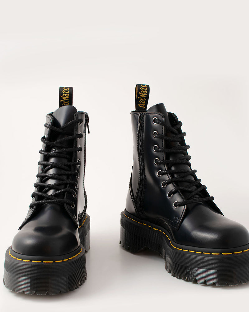 Dr. Martens Dr. Martens, Jadon Black Polished Smooth - Pick Up - Dusseldorf