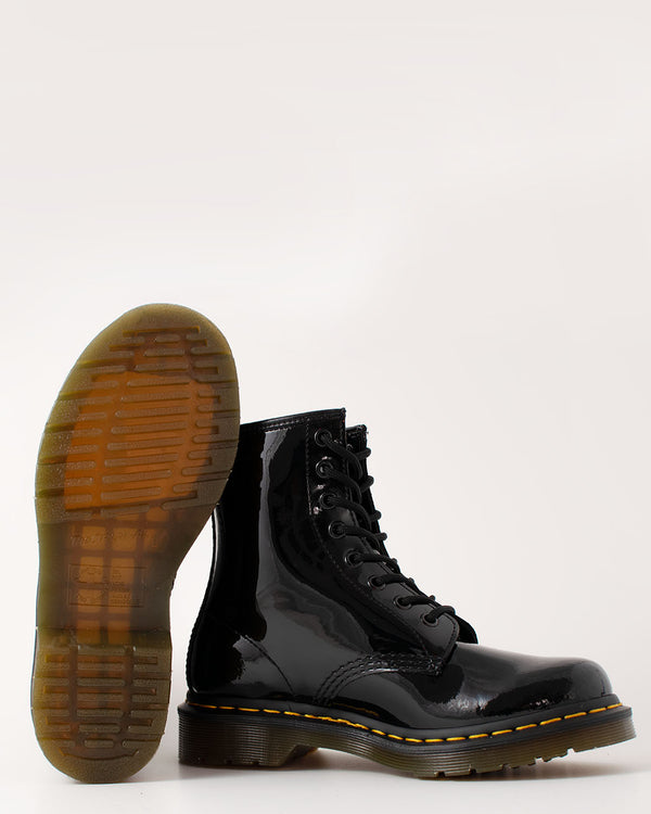 Dr. Martens, 11821011, 1460 Patent BLACK 8 Eye Boot