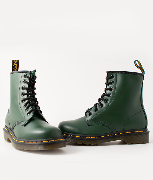 Dr. Martens Dr. Martens, 1460 Green Smooth - Pick Up - Dusseldorf