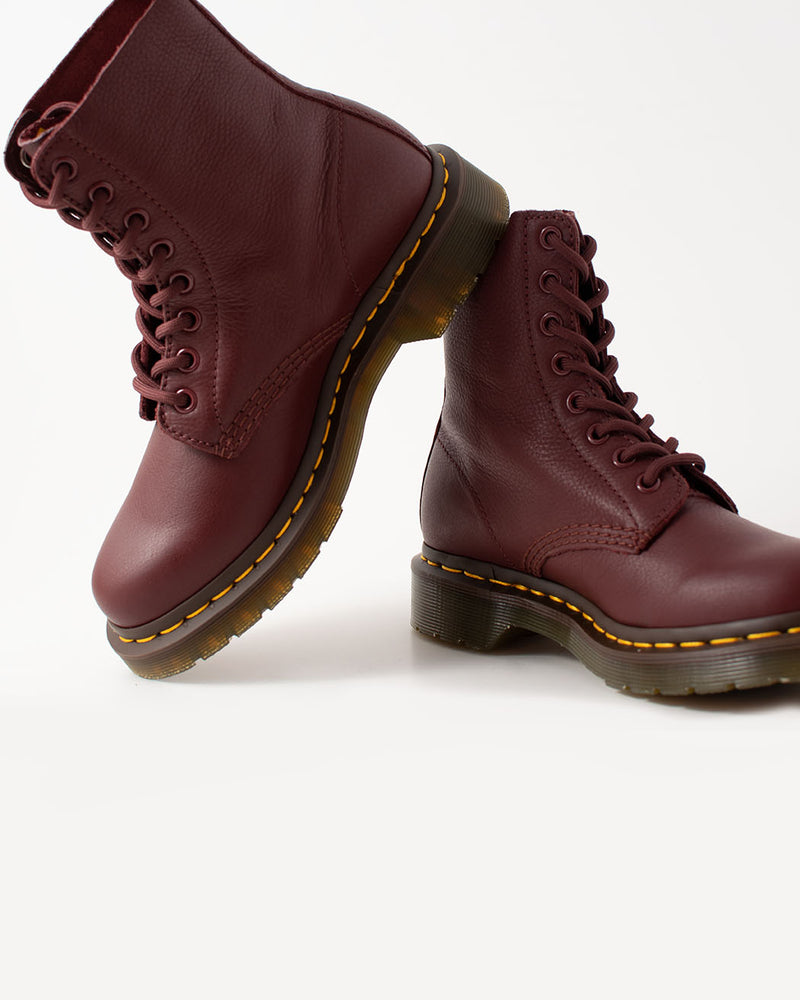 Dr. Martens Dr. Martens, 1460 Pascal Virginia Cherry Red - Pick Up - Dusseldorf