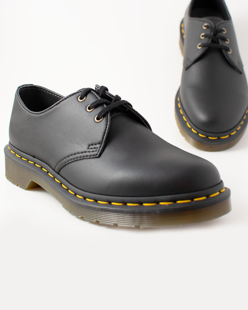 Dr. Martens Dr.Martens, 14046001, VEGAN 1461 BLACK FELIX RUB OFF - Pick Up - Dusseldorf