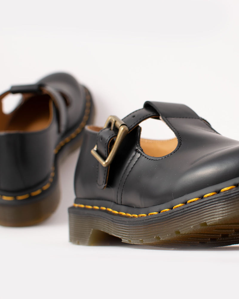 Dr. Martens Dr. Martens, Polley Black Smooth - Pick Up - Dusseldorf