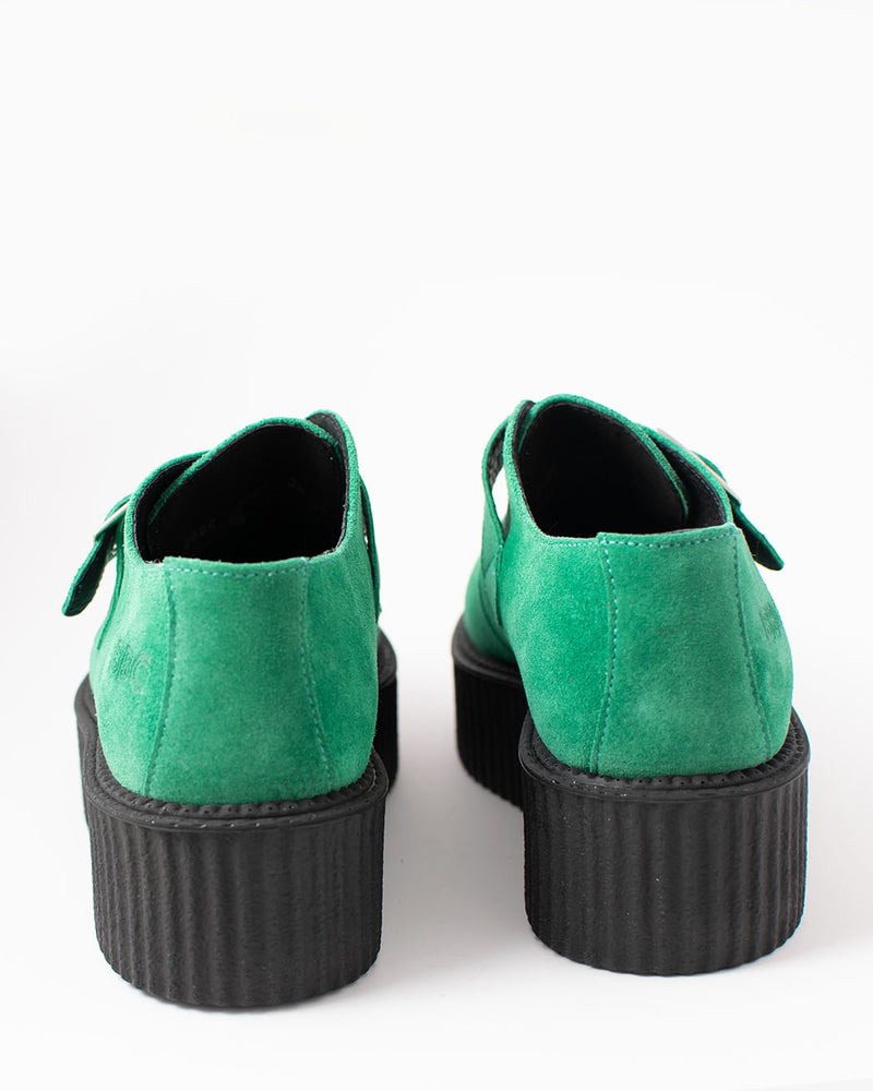 BBC BBC, 16027, Creeper shoe, turquoise, suede UMD - Pick Up - Dusseldorf
