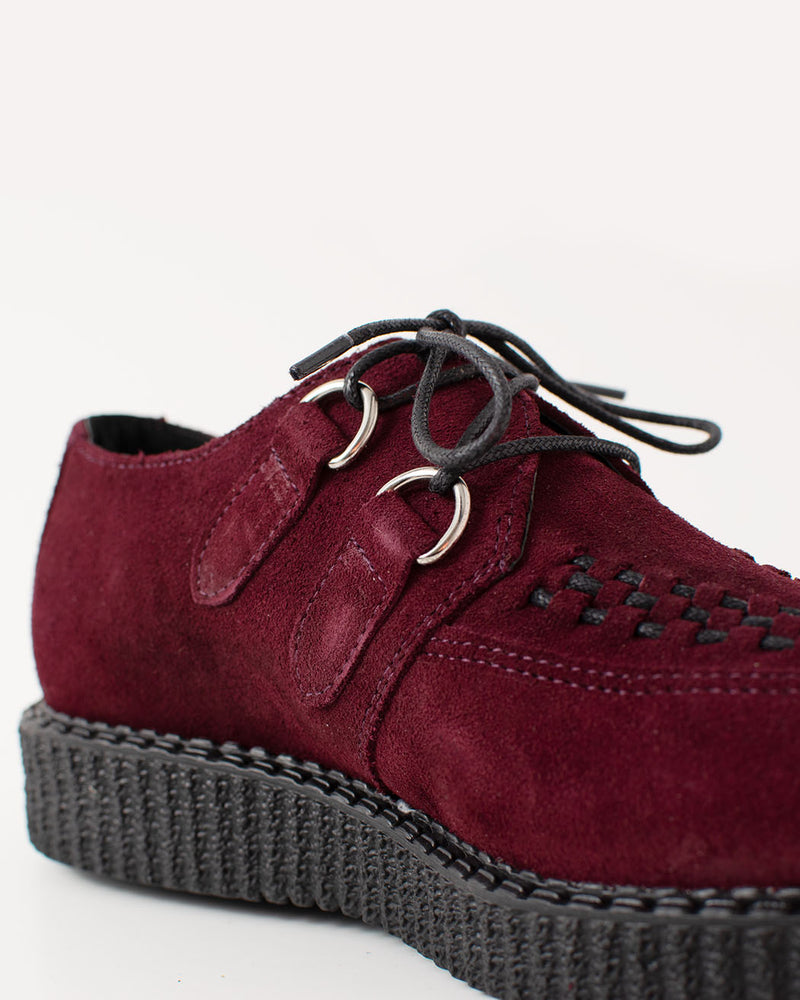 BBC, Creeper, Haley, Bordeaux, Suede