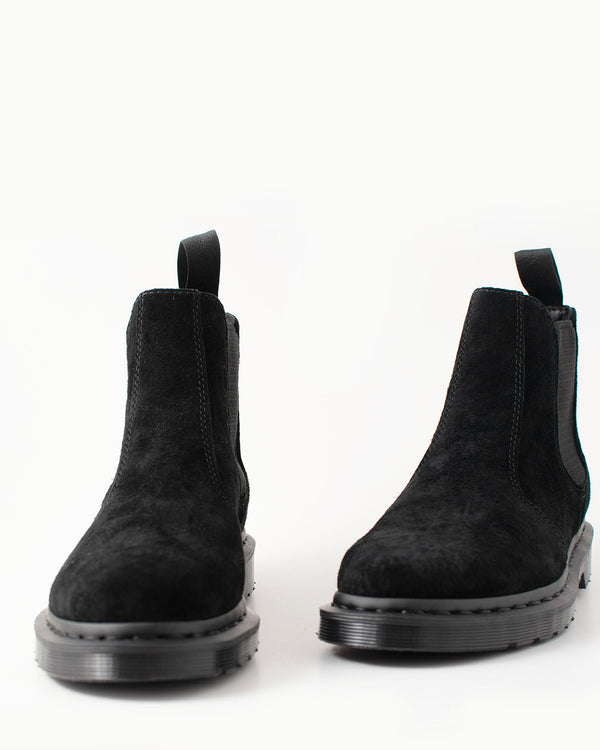Dr. Martens Dr. Martens, 2976 MONO Black Soft Buck - Pick Up - Dusseldorf