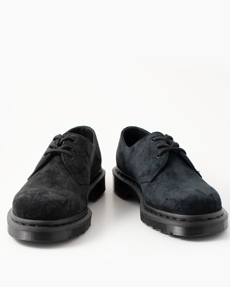 Dr. Martens Dr. Martens, 1461 MONO Black Soft Buck - Pick Up - Dusseldorf