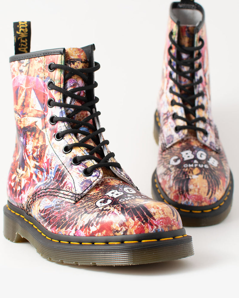 Dr. Martens Dr. Martens, 1460 CBGB Backhand Straw Multi - Pick Up - Dusseldorf
