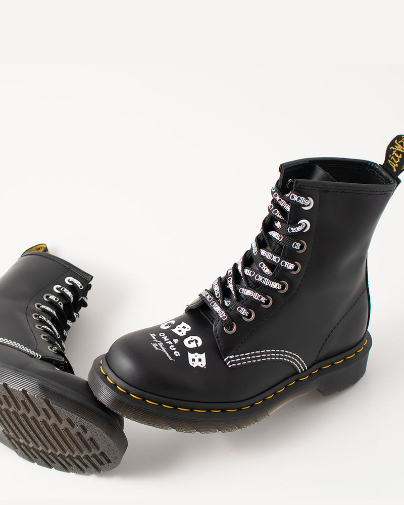 Dr. Martens Dr. Martens, 1460 CBGB Blacked Rolled Smooth - Pick Up - Dusseldorf