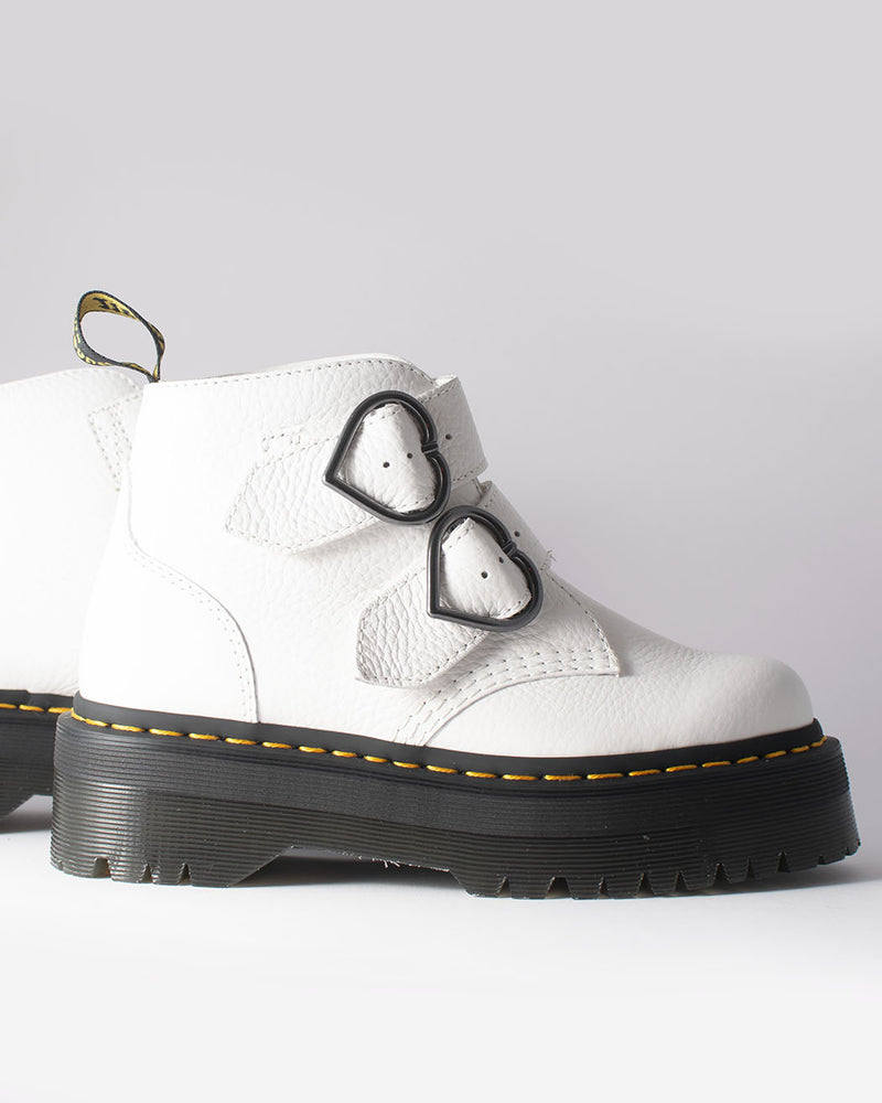 Dr. Martens, Devon Heart White Aunt Sally
