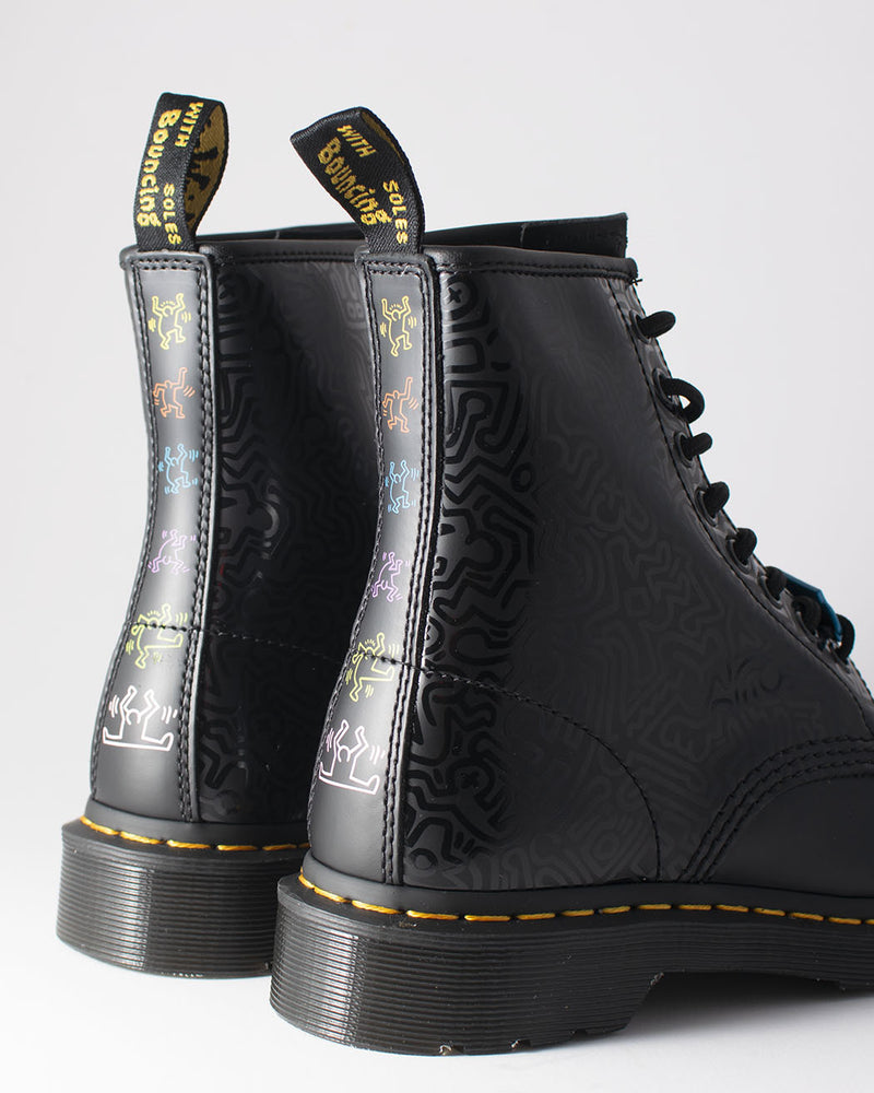 Dr. Martens Dr. Martens, 1460 KH FIG Black+ Multi - Pick Up - Dusseldorf