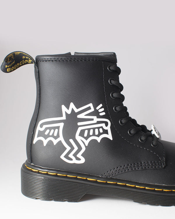 Dr. Martens Dr. Martens, 1460 KH J, BLACK + WHITE, KH HYDRO LEATHER - Pick Up - Dusseldorf