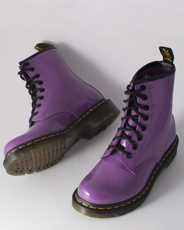 Dr. Martens Dr. Martens, 1460 W Bright Purple Patent Lamper - Pick Up - Dusseldorf