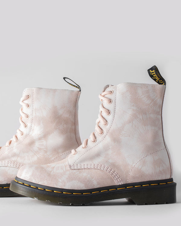 Dr. Martens Dr. Martens, 1460 Pascal Shell Pink/White Tie Dye - Pick Up - Dusseldorf